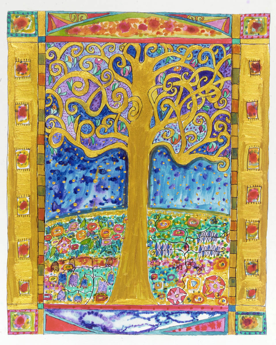 Cards - Tree of Life, Etz Chaim